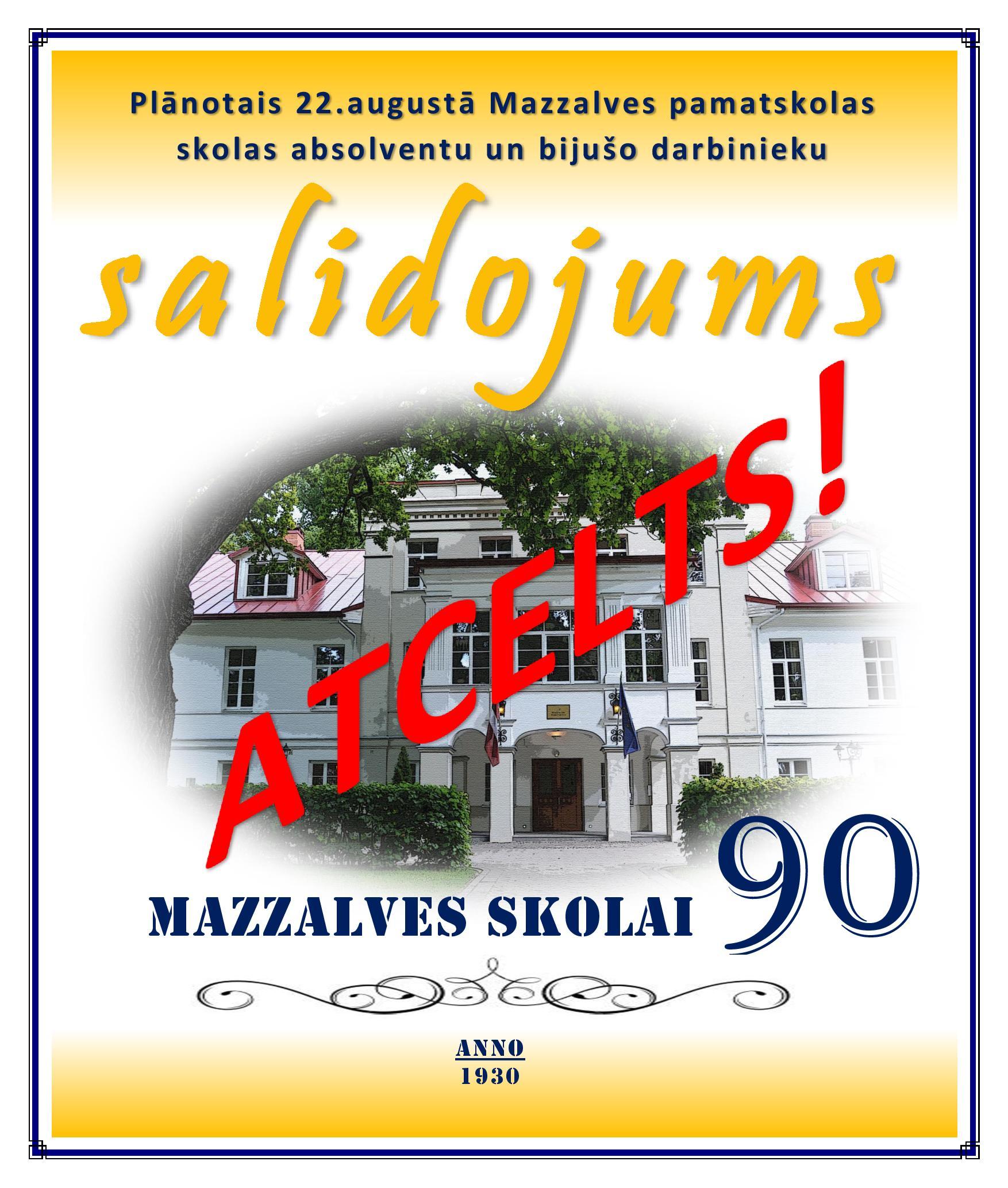 Mazzalves skolai 90 -ATCELTS